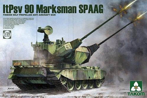 Финская зенитка ltPsv 90 Marksman SPAAG - Takom 2043 1:35