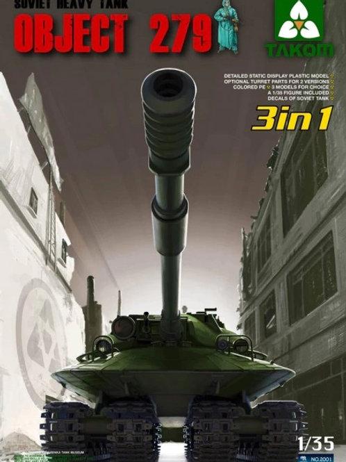Советский тяжелый танк Объект 279 - Takom 2001 1:35