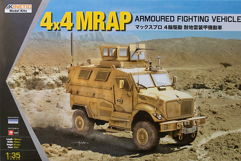 (под заказ) 4x4 MRAP AFV - Kinetic K61011 1:35