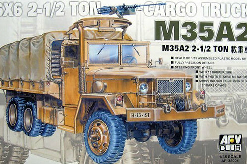 Грузовик M35A2 - AFV Club AF35004 - 1:35