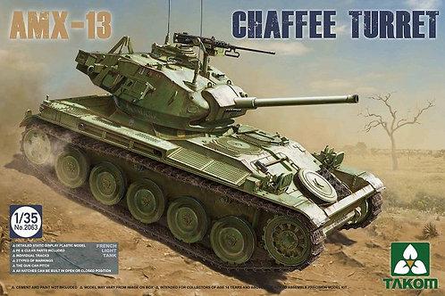 Французский танк AMX-13 Chaffe Turret - Takom 2063 1:35