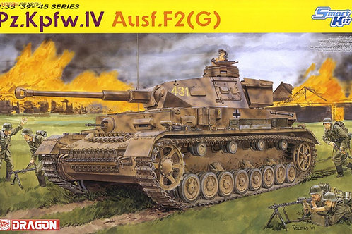 Немецкий танк Pz.IV Ausf.F2 (G) сборная модель - Dragon 6360 1:35