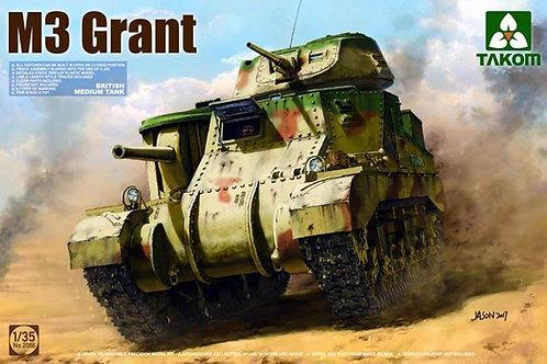 (под заказ) Средний танк M3 General Grant / М3 Генерал Грант - Takom 2086 1:35