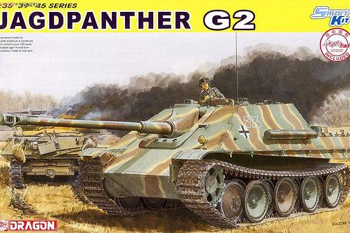 Немецкая самоходка Jagdpanther G2 - Dragon 6609 1:35 + МЕТАЛЛ траки