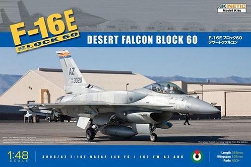 F-16E Block 60 Desert Falcon - Kinetic K48029 1:48 - под заказ