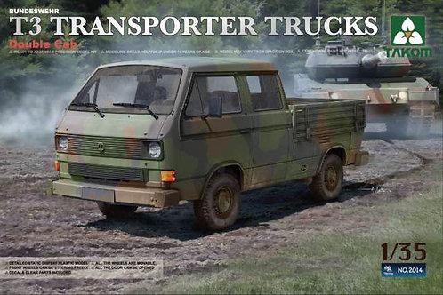 VW Transporter T3 Double Cab - Takom 2014 1:35