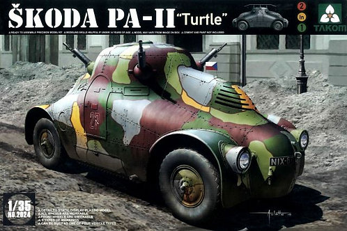 "Чешский бронеавтомобиль Skoda PA-II ""Turtle"" - Takom 2024 1:35"