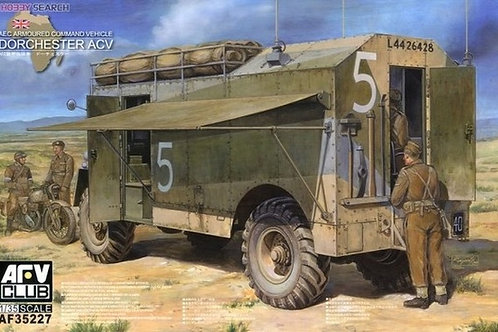 Английский броневик AEC Dorchester ACV с интерьером - AFV Club AF35227 - 1:35