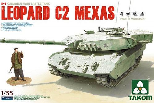 Танк Леопард С2 Leopard C2 MEXAS - Takom 2003 1:35