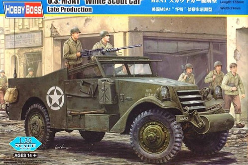 "U.S. M3A1 ""White Scout Car"" Late Production - Hobby Boss 82452 1:35"
