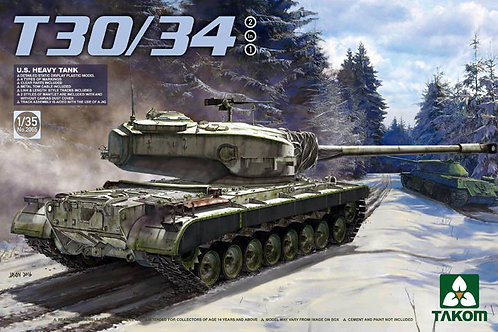 (под заказ) Американский танк T30/34 (2 в 1) - Takom 2065 1:35