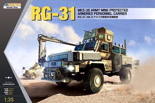 Бронеавтомобиль RG-31 MK5 сборная модель - Kinetic K61015 1:35 - под заказ