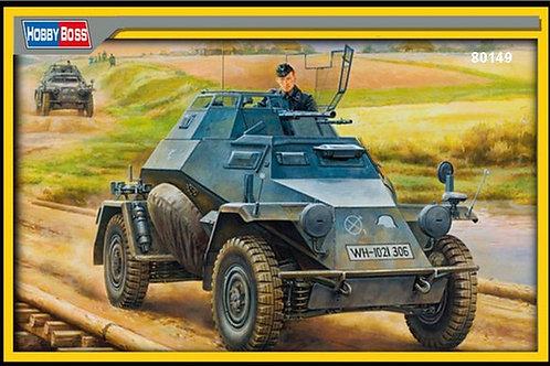 Бронеавтомобиль Sd.Kfz.222 основная серия - Hobby Boss 80149 - 1:35