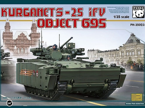 Российская БМП Объект 695 Курганец-25 - Panda Hobby PH35023 1:35