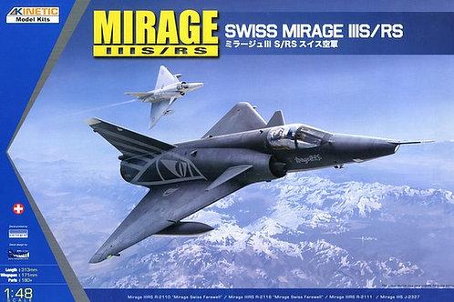 Dassault Mirage IIIS/RS - Kinetic K48058 - 1:48