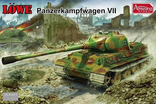(под заказ) Танк Лев Löwe Panzerkampfwagen VII - Amusing Hobby 35A005 1:35
