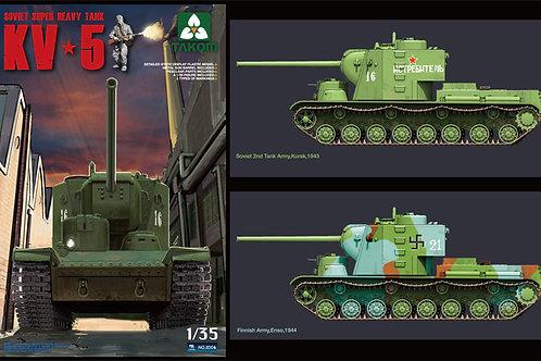 Советский тяжелый танк КВ-5 - Takom 2006 1:35