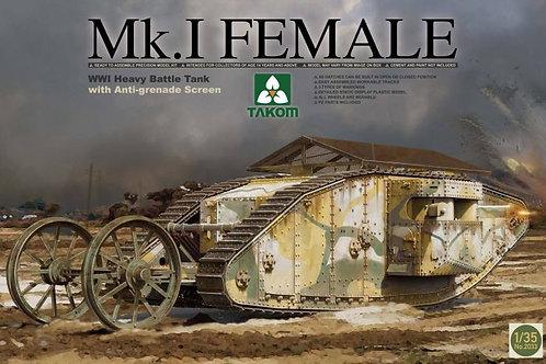Mk.I Female with Anti-grenade - Takom 2033 - 1:35