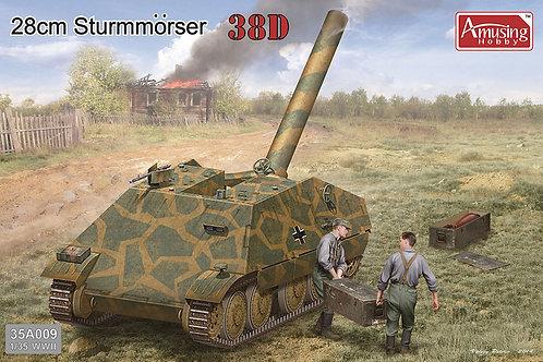 28cm Sturmmorser 38D - Amusing Hobby 35A009 -1:35
