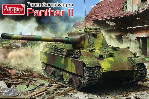 (под заказ) Panther II с 88-мм пушкой, 2в1 - Amusing Hobby 35A018 1:35