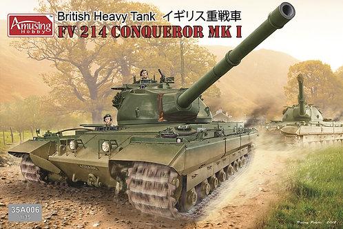 (под заказ) British Heavy Tank FV214 Conqueror Mk I - Amusing Hobby 35A006 1/35
