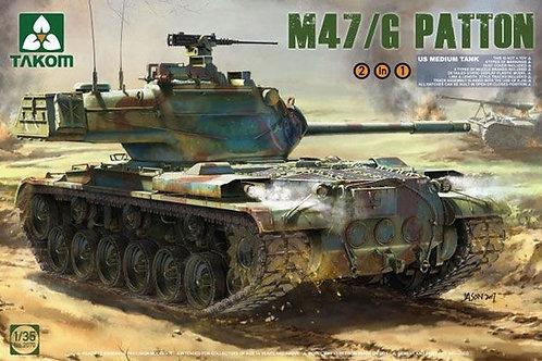 US Medium Tank M47/G Patton - Takom 2070 1:35