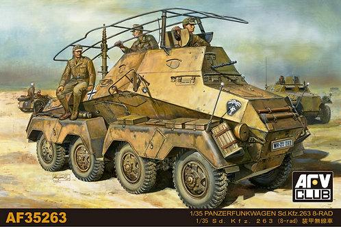 Бронеавтомобиль Sd.Kfz.263 8-Rad - AFV Club AF35263 1:35