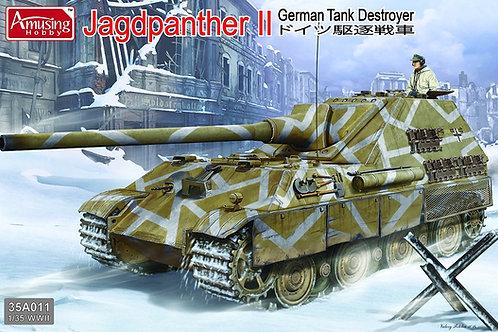 (под заказ) Истребитель танков Jagdpanther II - Amusing Hobby 35A011 1:35