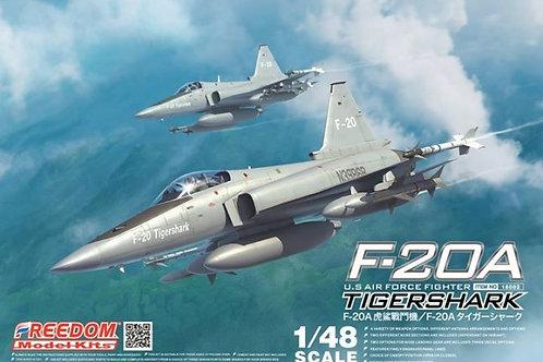 F-20A Tiger Shark - Freedom Model Kits 18002 1:48 под заказ