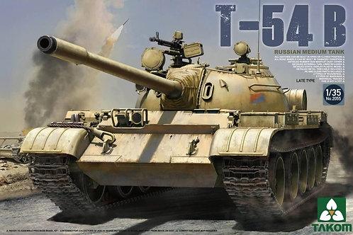 Советский танк Т-54Б поздняя версия - Takom 2055 1:35