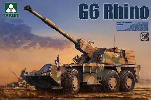 Самоходка ЮАР Рино / G6 Rhino SANDF - Takom 2052 1:35