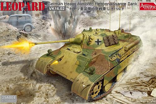(под заказ) Немецкий танк Leopard Леопард VK16.02 - Amusing Hobby 35A004 1:35