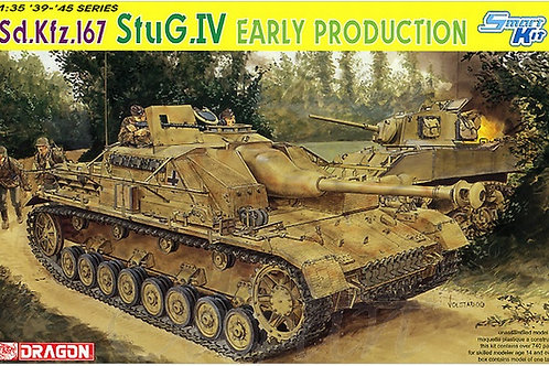 Sd.Kfz.167 StuG.IV Early production - Dragon 6520 1:35