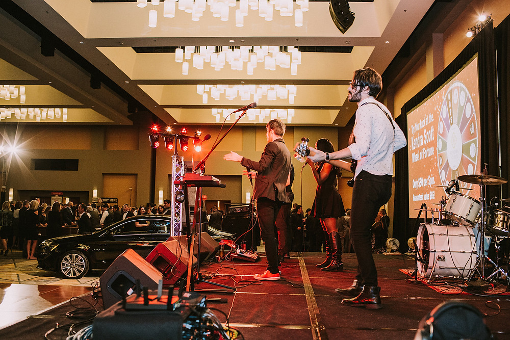 Stargazer Productions party bands at San Antonio Gala