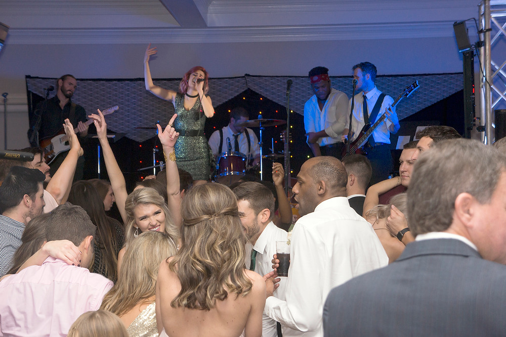 The After Party wedding band at Milestone Mansion