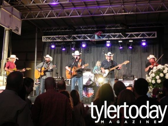 Country band in Tyler Today Magazine