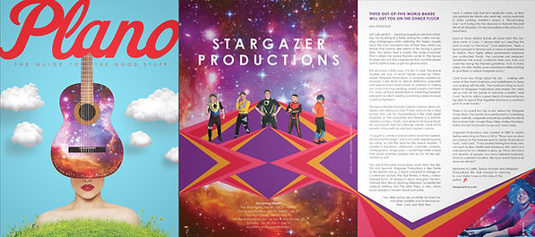 Stargazer Productions featured in Plano Magazine