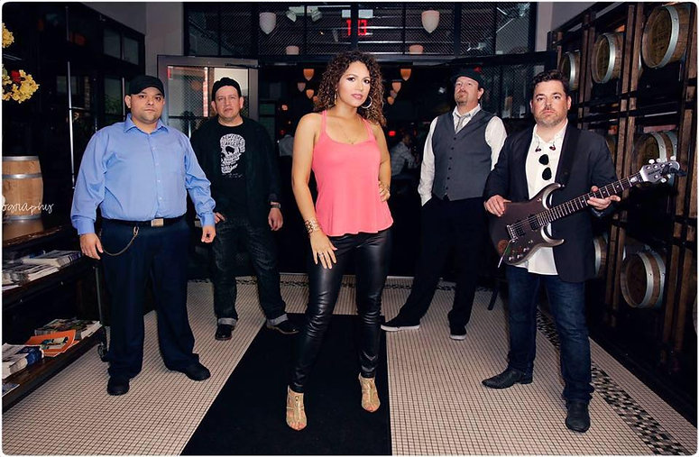 Houston cover band, Kaos, is a Top 40 band.