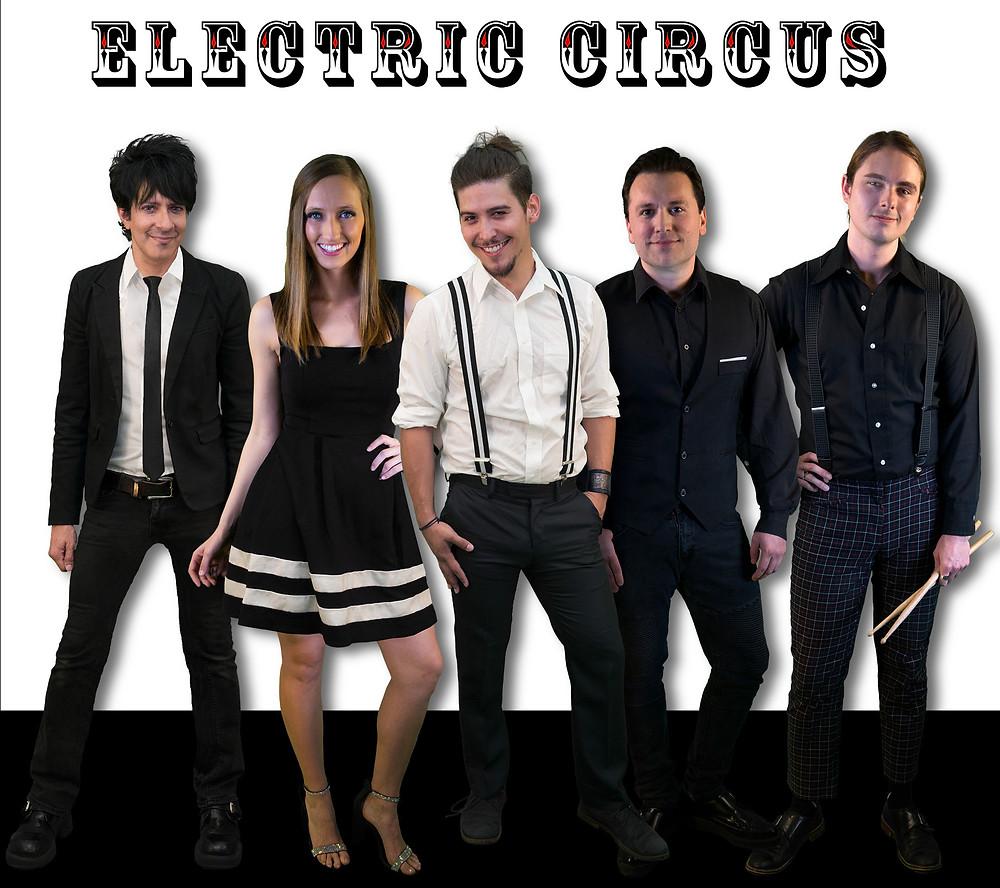 Electric Circus Dallas Wedding Band Entertainment