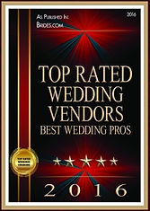 Stargazer Productions is a Brides Top Rated Wedding Vendor