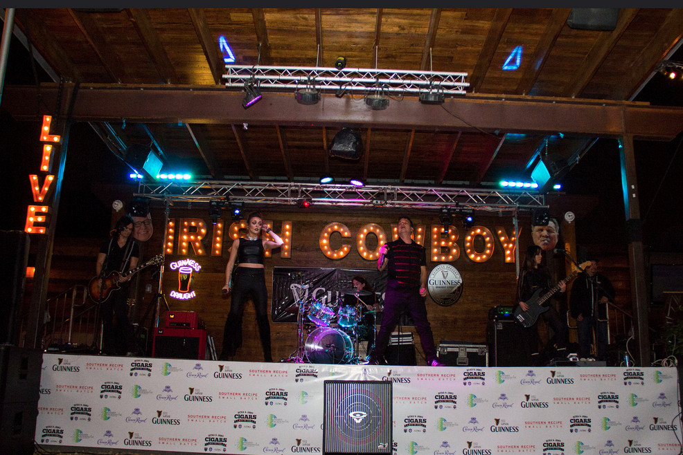Houston band for special events, Electric Circus