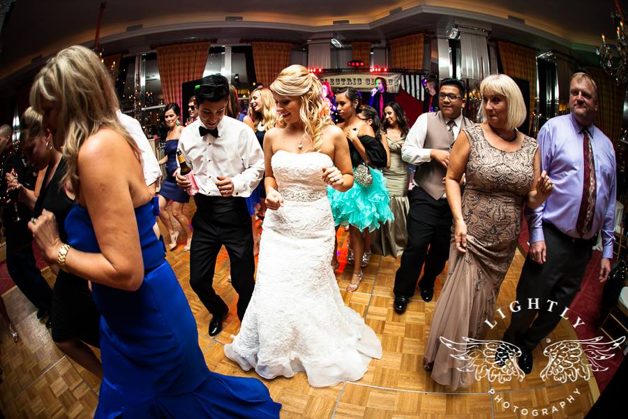 Electric Circus Wedding Dancers