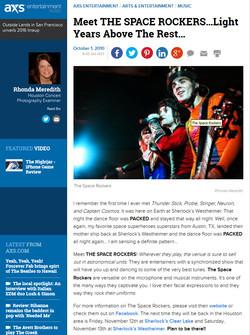 The Houston Examiner Article