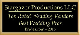 Stargazer Productions Wedding vendor Award