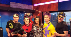 The Space Rockers @ Fox 29 News