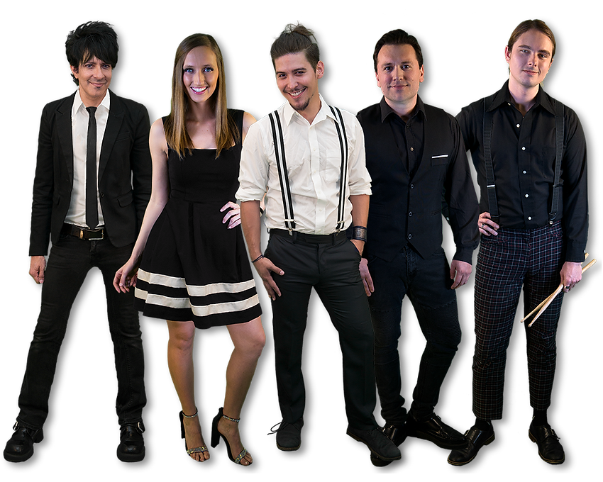 Electric Circus band is a Texas Wedding and Event Party Band
