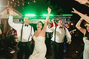 Texas Wedding couple dancing to wedding band, Electric Circus