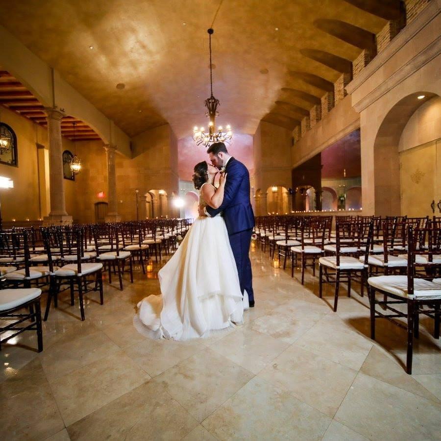 Houston wedding couple