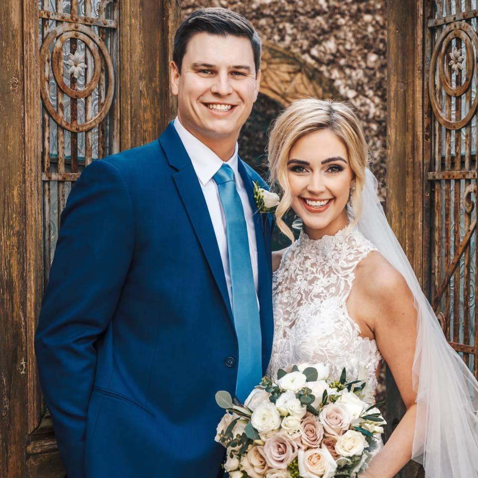 Stargazer wedding couple
