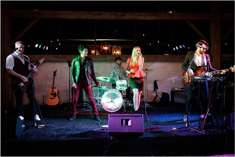 Satellite is Houston's wedding live band